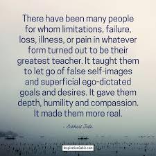 suffering reveals your true self inspiration cabin