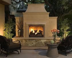 prefab outdoor fireplace kits a