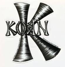 Korn Vinyl Bumper Skate Deck Window Sticker 4 5 X 5 Jdevil Jonathan Redrum Comics