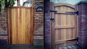 hardwood gate hardwood side gates