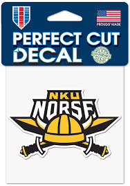 Northern Kentucky Norse 4x4 Auto Decal Black 5719409