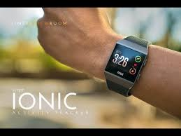 fitbit ionic gps fitness tracker