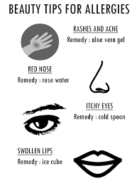 makeup tips to deal with allergies