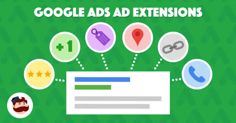 Image result for google ads extensions""
