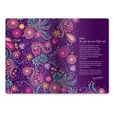 violet purple diary planner journal new beginnings