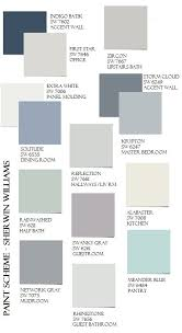 house color schemes paint colors for