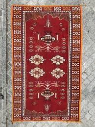 mid century moroccan berber carpet for