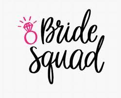 Bride Squad Team Bride Bridal Party Favor Bridal Party Etsy