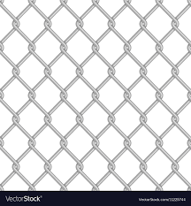 Seamless Chain Link Fence Background Royalty Free Vector
