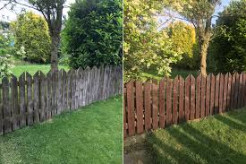 Diy Project Painting A Fence With Sadolin Classic