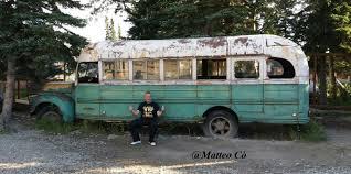 """Nel cuore del Magic Bus di """"Into the wild"""" per Chris McCandless ..."""