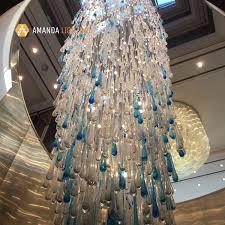 water drop tear drop glass chandelier