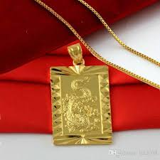 24k gold plated male yellow gold plated