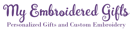 personalized embroidered baby gifts