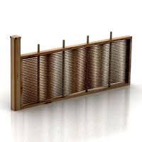 Fence 1 3d Models