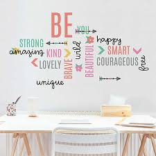 Be Beautiful Inspirational Wall Decal Kirklands