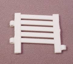 Ertl White Fence Section 1 64 Scale For Ranch Or Farm Sets 1 Tall Rons Rescued Treasures