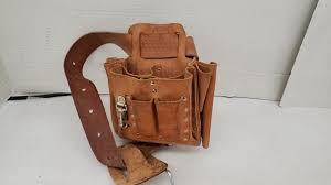 klein tools lineman tool pouch leather