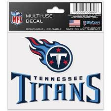 Official Tennessee Titans Car Decal Titans Window Decal Window Decal For Cars Nflshop Com