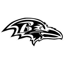 Baltimore Ravens 623 Vinyl Sticker
