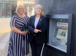 Barclays' Paulette Smith with Harriett Baldwin MP outside the town's Great  Malvern branch | Harriett Baldwin MP - Member of Parliament for West  Worcestershire