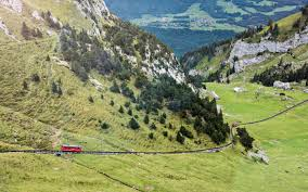 switzerland pilatus mounns slope
