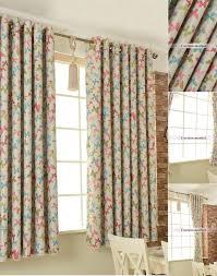 Elegant Kids Or Teen Room Darkening Short Length Curtains