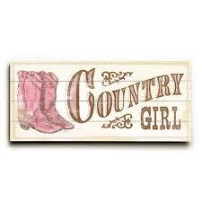 Kids Country Girl Wood Sign Etriggerz Com