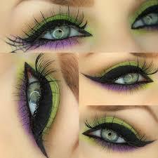 halloween witch eye make up tutorial