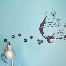 My Neighbor Totoro Soot Sprites Wall Art Stickers Ghibli Store