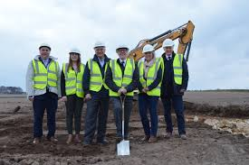 Housing minister starts construction on Springfield development in Hopeman  - Scottish Housing News