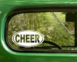 Cheer Cheerleader Decal Sticker The Sticker And Decal Mafia
