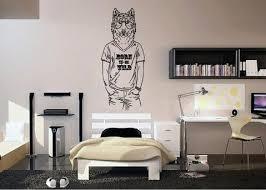 Ik1081 Wall Decal Sticker Fashion Animal Persian Cat Bedroom