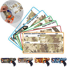 Amazon Com Blastr Wrapz Blaster Not Included Sticker Decals Intended For Elite N Strike Strongarm 1 Pack Custom Toy Blaster Adhesive Vinyl Skin Upgrade Mod Gear Kids Teens Adults Desert Digital Camo