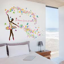 Wonderful Ballerina Wall Sticker Dance Wardrobe Com
