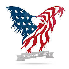 Calling All Patriots You Ll Love This American Flag Eagle Wall Art Realsteel Center
