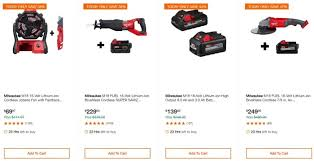 Home Depot Special Buy Of The Day Up To 40 Off Select Milwaukee Combo Kits Power Tools Hand Tools