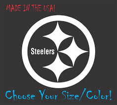 Pittsburgh Steelers Football Vinyl Decal Sticker For Nf