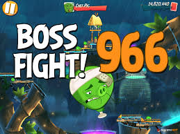 Angry Birds 2 Boss Fight Level 966 Walkthrough – Bamboo Forest ...