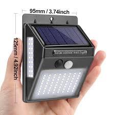100 led solar light outdoor solar lamp