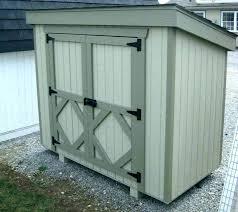 outdoor storage box garbage bin