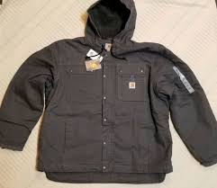 jacket sherpa lined cotton duck