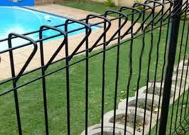 Assembled 2400mm High Steel Wire Mesh Brc Mesh Fence Hot Dipped Galvanized