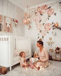 Rocky Mountain Decals Story Time In The Most Magical Of Rooms Thanks Misskyreeloves For Using Our Peony Wall Decals In This Breathtaking Space Removable Reusable Shop Peony Decals Here Https Rockymountaindecals Ca Products Peony Flower