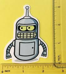 Buy 3 Get 5 Buy 5 Get 10 Futurama Bender Cartoon Car Sticker Buy 2 Get
