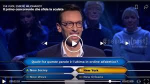 Chi vuol essere Milionario, Enrico Remigio (Scafa) all ...