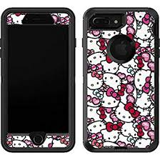 Amazon Com Skinit Decal Skin Compatible With Otterbox Defender Iphone 7 Plus Officially Licensed Sanrio Hello Kitty Multiple Bows Design Industrial Scientific