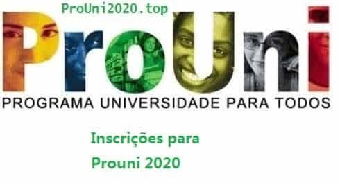 """Resultado de imagem para PROUNI 2020"""""""