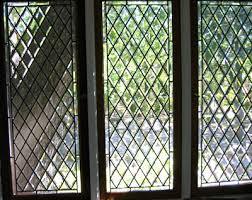 leaded glass diamond windows custom