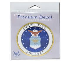 Premium Air Force Seal 3d Decal Elektroplate